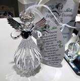 Acrylic Angels Promise Ornament