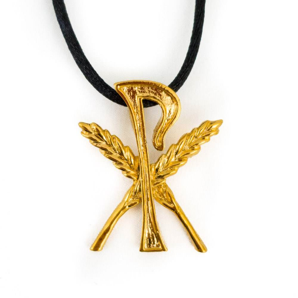 Additional Gold Gluten Free Symbol Amulet
