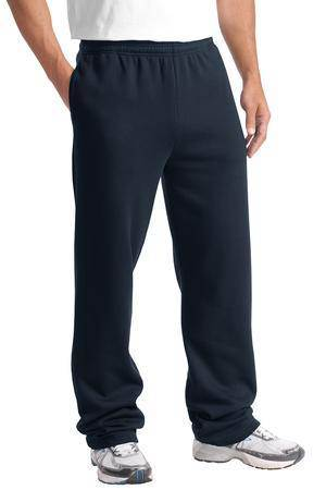 Navy Sweatpants, Adult, No Logo