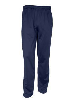 Navy Performance Track Pants, Adult, No Logo