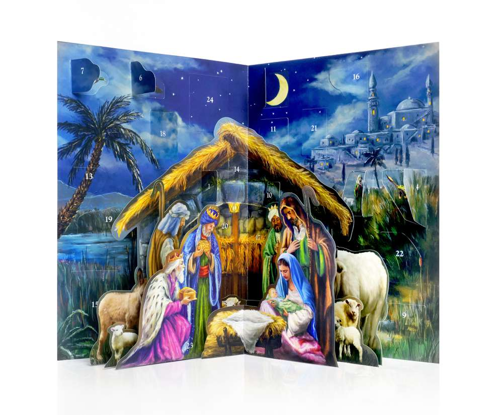 Advent Calendar: 3D Manger Pop Up