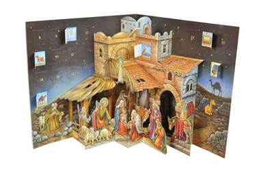 Advent Calendar: 3D Nativity Pop Up