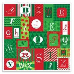 "ABCs of Christmas Paper Advent Calendar Treatments: die cut windows  Features: ABCs of Christmas Advent calendar, each letter leads you verse-by-verse to Christs birth.  Product Size: 12"" x 12"""