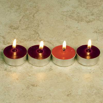Advent Tea Light Set