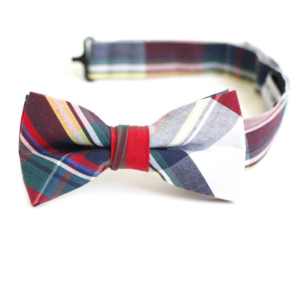 Traditional Plaid Bowtie