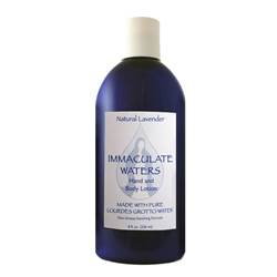 All Natural Lavender Hand and Body Lotion, Made with Lourdes Water