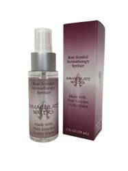 All Natural Rose Scented Aromatherapy Spritzer, Made with Lourdes Water