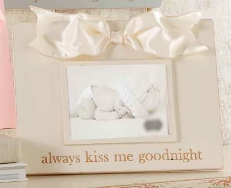 Always Kiss Me Goodnight\' Frame