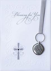 Always with You Pewter Keychain
