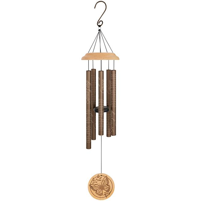 """Amazing Grace"" 30"" Wood Sonnet Chimes"