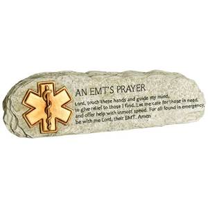 An EMT's Prayer Message Bar