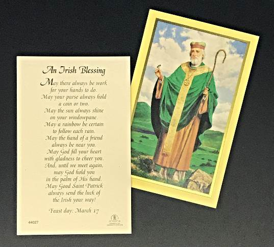 An Irish Blessing Prayercard 100/PK