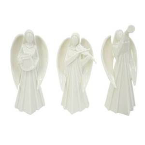 asst white angel statues