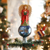 Glass Angel Tree Topper