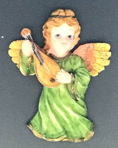 Angel with Violin Magnet