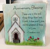 Anniversary Blessing Plaque
