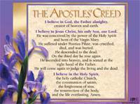 Apostle's Creed Poster