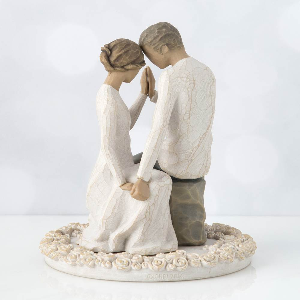 Around You Cake Topper Willow Tree