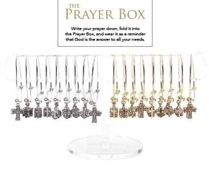 Assorted Bangle Prayer Box Bracelets