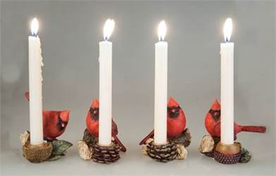 Cardinal Taper Candle holders