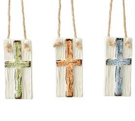 Assorted Cross Ornaments
