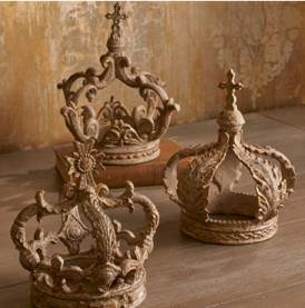 Assorted Crown Decor