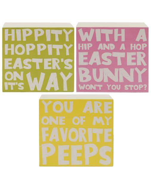 Assorted Easter Box Signs *WHILE SUPPLIES LAST*