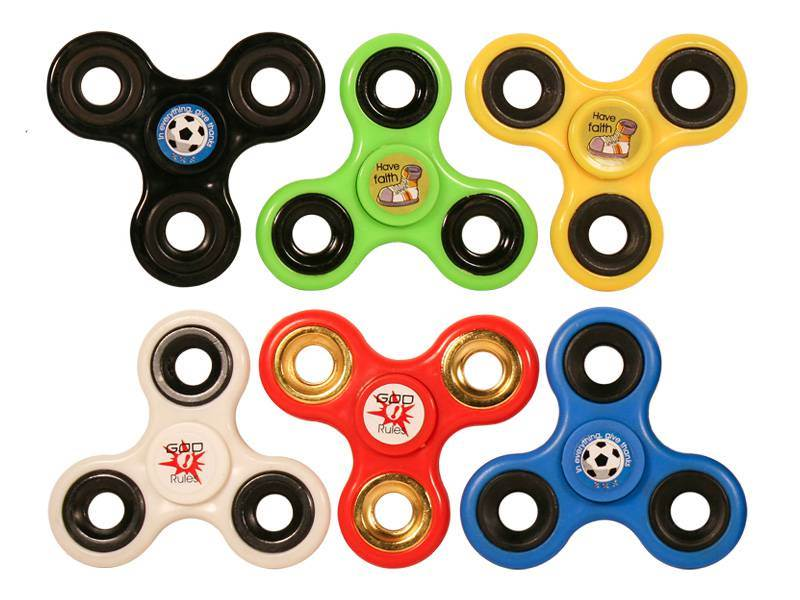 Assorted Faith Fidget Spinners fidget spinners, spinners, figet tool, kids toy, stocking stuffer, grab bag gift, kids gift, girl, boy, sports spinner, faith spinners,52012