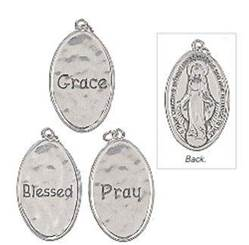 Assorted Hail Mary Prayer Charms prayer charms, hail mary charms, pocket tokens, charm bracelet, necklace charm, mothers day gift, grandmothers day gift, retreat gift, er32718