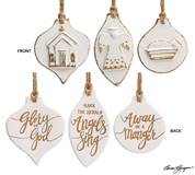 Assorted Hand Painted Ceramic Ornaments *WHILE SUPPLIES LAST*