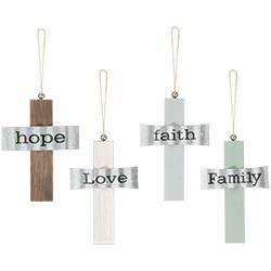 Assorted Inspirational Hanging Crosses