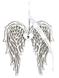 Remembrance Assorted Message Wing Ornaments