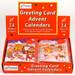 Assorted Mini Advent Calendars, Sold Individually
