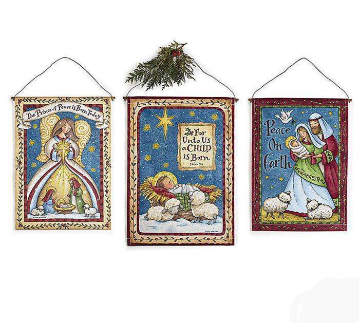 Assorted Nativity Wall Hangings *WHILE SUPPLIES LAST*