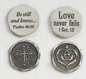 Assorted Seal of Faith Pocket Tokens