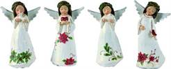 Assorted Small Angel Figurines STATUES