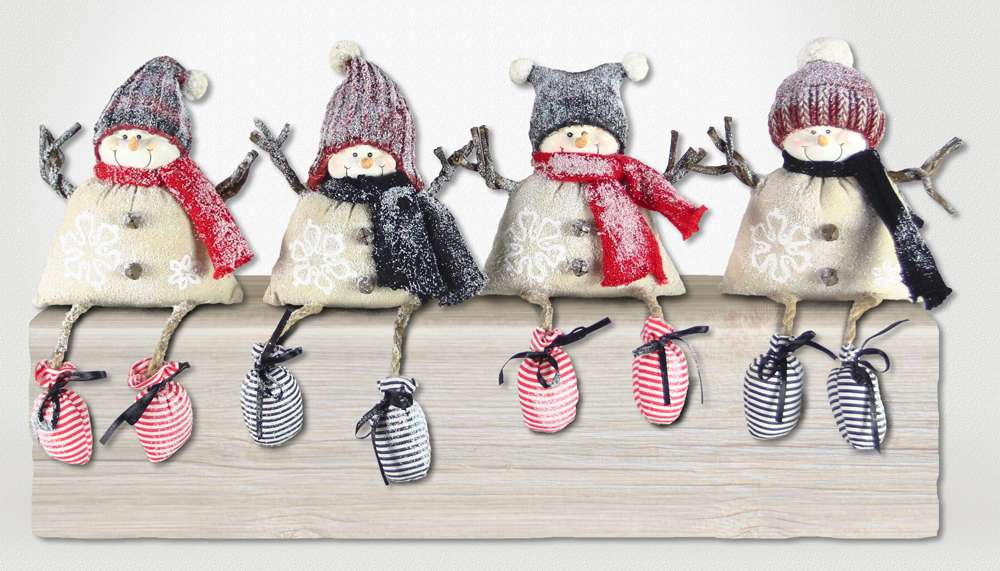 Assorted Snowman Shelf Sitters , Sold Individually