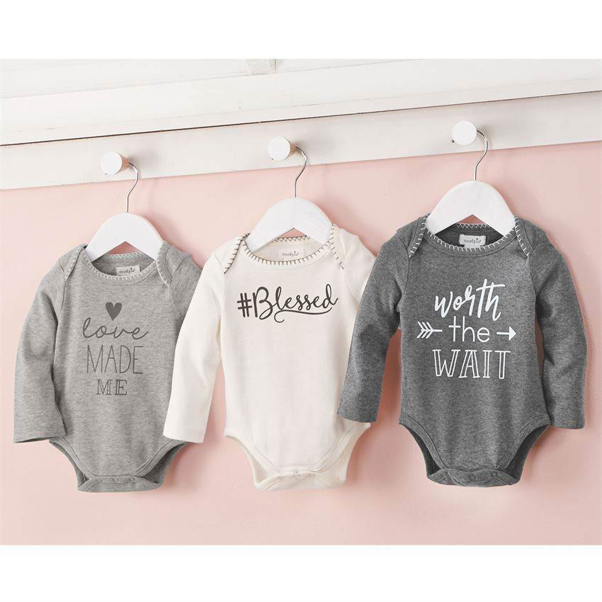 Assorted Sweet Sentiment Crawlers Long Sleeve Onesi