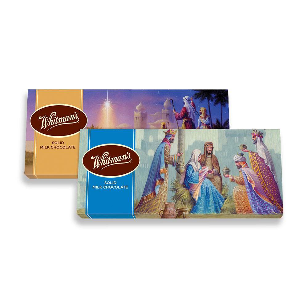 Whitman Christmas Chocolate Bar