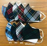 Asst Plaids Reusable Face Mask