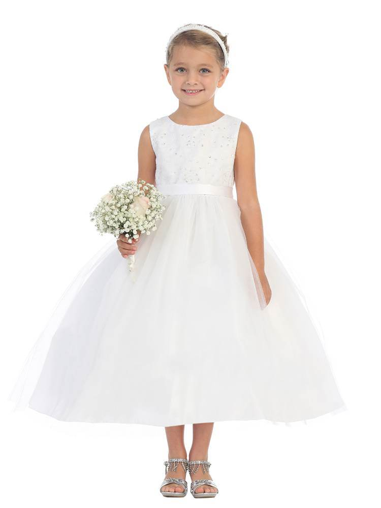 Audrey White First Communion Dress *WHILE SUPPLIES LAST* flower girl dress, white flower girl dress, communiond ress, girls communion dress, white communion dress, 1st communion dress