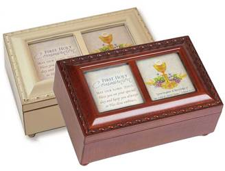 First Communion Wooden Music Boxes