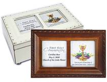 Ave Maria Personalized First Communion Keepsake Music Boxes