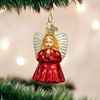 Baby Angel Glass Ornament