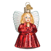 Little Angel Glass Ornament