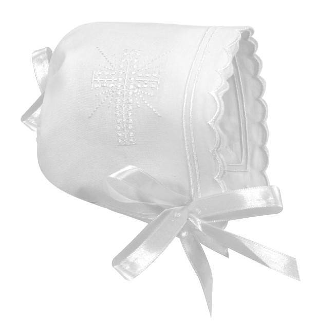Baby Girl's Keepsake Bonnet