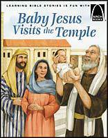 Baby Jesus Visits the Temple-Arch Books christmas book, childrens book, christmas gift, seasonal gift, seasonal book, arch books, 9780570075752, 978-0-57007-575-2, 591544