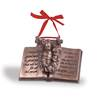 Baby Jesus on Bible Verse Luke 2:10-11 Christmas Ornament