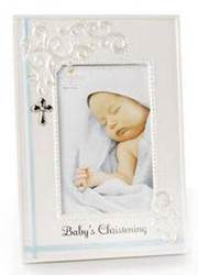 Babys Christening Frame new baby, new baby gift, christening gift, blue frame, pink frame, baby gift,