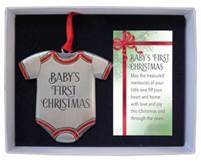 "Babys First Christmas 3"" Ornament"